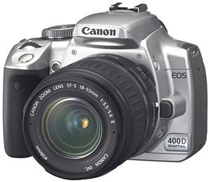 A digital SLR camera