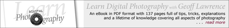 Learn Digital Photography with Geoff Lawrence eBook