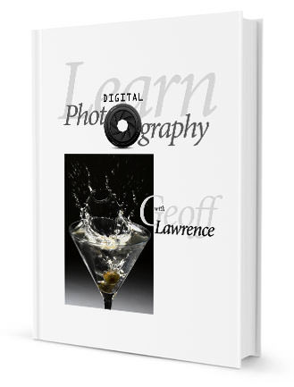book cover - learn digital photography with geoff lawrence
