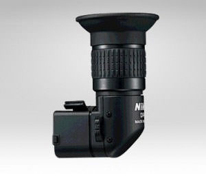 right-angle viewfinder accessory