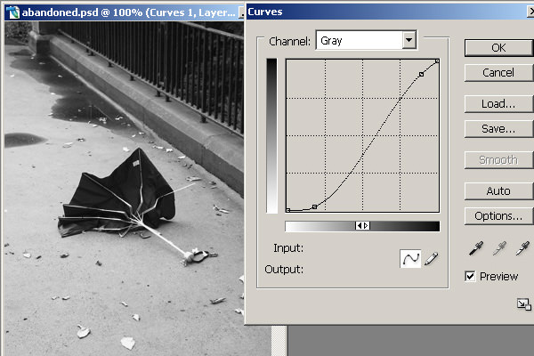 Using Curves on Adjustment Layers